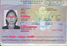image of US visa