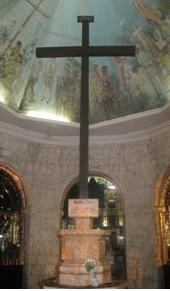 Magellan's Cross Inside the Basilica