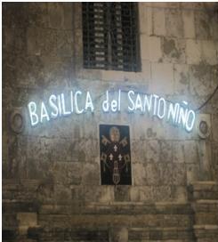 The Facade of Sto. Niño Church