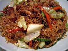 Pansit Guisado is the favorite noodle dish of Filipinos.