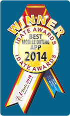 2014 iDate Award Winner Best Mobile Dating App
